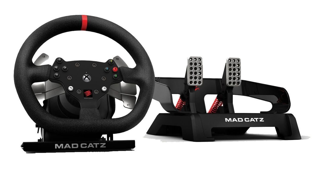 Thrustmaster Ts Xw Racer Sparco P310 Competition Mod New Mad Catz Pro Racing Force Feedback Wheel Xbox One