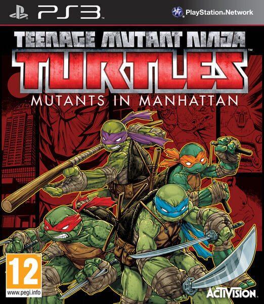 Teenage Mutant Ninja Turtles Ps3
