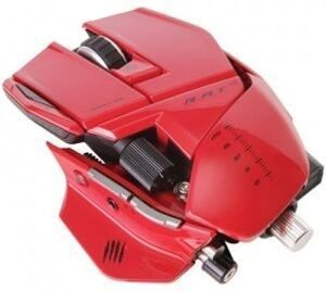 Проводная мышь Mad Catz R.A.T.9 Gaming Mouse (Red) (PC)