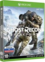 Игра Tom Clancy's Ghost Recon Breakpoint (XBOX One, русская версия)
