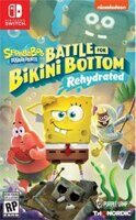 Игра Sponge Bob SquarePants Battle For Bikini Bottom Rehydrated (Nintendo Switch, русская версия)