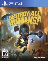 Игра Destroy All Humans! (PS4, русская версия)