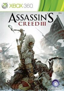 Игра Assassin's Creed 3 (XBOX 360, русская версия)