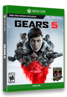 Игра Gears 5 (Gears of War 5) (XBOX One, русская версия)