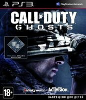 Игра Call of Duty: Ghosts (PS3, русская версия)