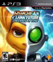 Игра Ratchet and Clank Future: A Crack in Time (PS3)