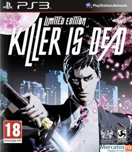 Игра Killer Is Dead Limited Edition (PS3)