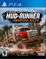 Игра Spintires: MudRunner American Wilds (PS4, русская версия)