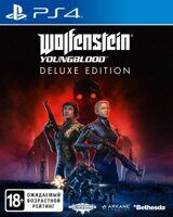 Игра Wolfenstein: Youngblood Deluxe Edition (PS4, русская версия)