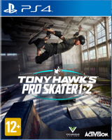 Игра Tony Hawk's Pro Skater 1 + 2 (PS4)