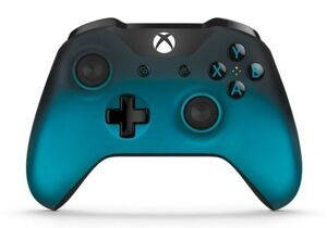 Геймпад Microsoft Xbox One S Wireless Controller Bluetooth 3.5 Special Edition Ocean Shadow (XBOX One S)