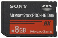 Карта памяти Sony Memory Stick Pro-HG Duo 8GB (PSP)