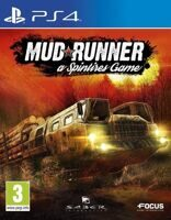 Игра Spintires: Mudrunner (PS4, русская версия)