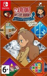 Игра Laytons Mystery Journey Katrielle and the Millionaires Conspiracy DE (Nintendo Switch)