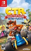 Игра Crash Team Racing Nitro-Fueled (Nintendo Switch)