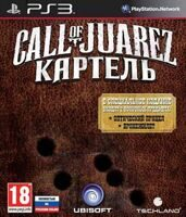 Игра Call of Juarez: Картель Limited Edition (PS3, русская версия)
