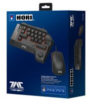 Мышь + кейпад Hori T.A.C. FOUR TYPE K2 Black USB (PS4)