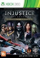 Игра Injustice: Gods Among Us - Ultimate Edition (XBOX 360, русская версия)