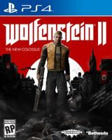 Игра Wolfenstein 2: The New Colossus  (PS4, русская версия)