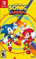 Игра Sonic Mania Plus (Nintendo Switch)