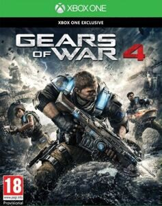 Игра Gears of War 4 (XBOX One, русская версия)