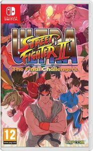 Игра Ultra Street Fighter II: The Final Challengers (Nintendo Switch)