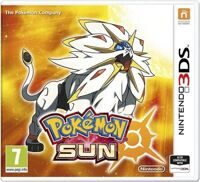 Игра Pokemon Sun  (3DS)