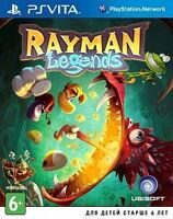 Игра Rayman Legends (PS Vita, русская версия)