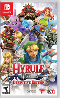 Игра Hyrule Warriors: Definitive Edition (Nintendo Switch)