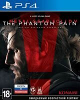 Игра Metal Gear Solid V : The Phantom Pain (PS4, русская версия)