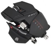 Проводная мышь Mad Catz R.A.T.9 Gaming Mouse (Matt Black) (PC)