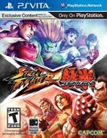 Игра Street Fighter X Tekken (PS Vita)