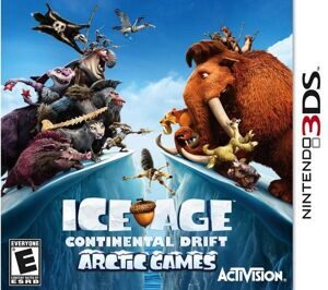 Игра Ice Age 4: Continental Drift. Arctic Games (3DS)
