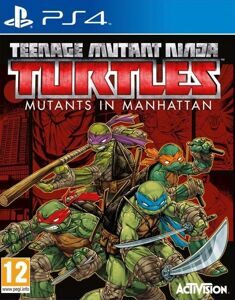 Игра Teenage Mutant Ninja Turtles: Mutants in Manhattan (PS4)