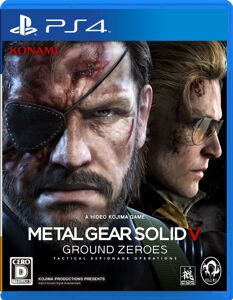Игра Metal Gear Solid Ground Zeroes (PS4, русская версия)