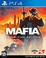 Игра Mafia Definitive Edition (PS4, русская версия)