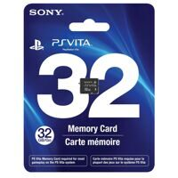 Карта памяти Sony PS Vita Memory Card 32GB