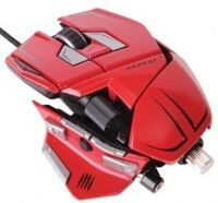 Проводная мышь Mad Catz M.M.O.7 Gaming Mouse (Red) (PC)