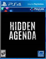 Игра Hidden Agenda (PS4, русская версия)