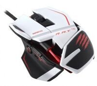 Проводная мышь Mad Catz R.A.T.TE Gaming Mouse (White) (PC)