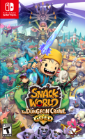 Игра Snack World: The Dungeon Crawl - Gold (Nintendo Switch)