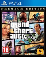 Игра Grand Theft Auto V Premium Online Edition (GTA 5) (PS4, русская версия)