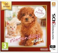 Игра Nintendogs+Cats. Toy Poodle & new Friends (3DS)