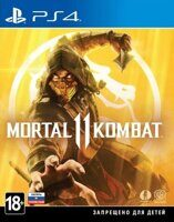 Игра Mortal Kombat 11 (PS4, русская версия)