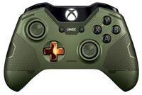 Геймпад Microsoft Xbox One Wireless Controller (Halo 5: Guardians-the Master Chief) (XBOX One)