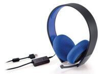 Стереогарнитура Silver Wired Stereo Headset Black 7.1 (PS4/PS3/PS Vita/PS Vita 2000)