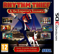 Игра Rhythm Thief & The Emperor's Treasure (3DS)