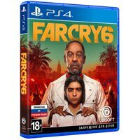 Игра Far Cry 6 (PS4, русская версия)