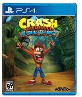Игра Crash Bandicoot N-Sane Trilogy (PS4)