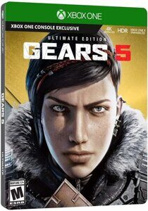 Игра Gears 5 Ultimate Edition (Gears of War 5) (XBOX One, русская версия)